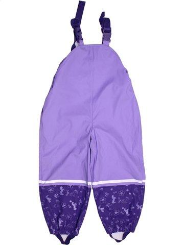 Salopette fille LUPILU violet 4 ans hiver #1213182_1