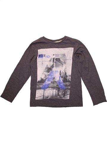 T-shirt manches longues garçon MEXX marron 10 ans hiver #1215961_1