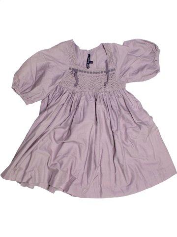 Robe fille LILI GAUFRETTE rose 6 ans hiver #1216770_1