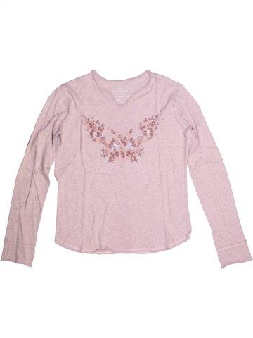 T-shirt manches longues fille ZADIG ET VOLTAIRE rose 14 ans hiver #1218262_1