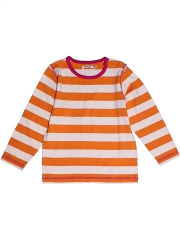 T-shirt manches longues fille NAME IT orange 4 ans hiver #1218998_1
