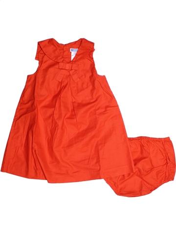 Robe fille JACADI orange 3 ans été #1219812_1
