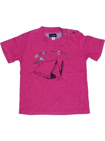 Camiseta de manga corta niña MARÈSE rosa 2 años verano #1219830_1