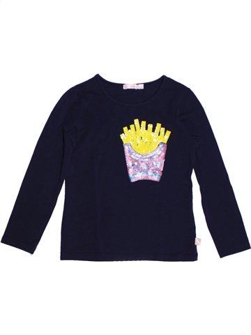 T-shirt manches longues fille BILLIEBLUSH noir 5 ans hiver #1220393_1
