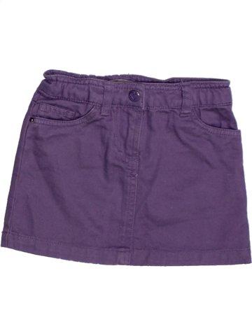 Jupe fille LISA ROSE violet 3 ans été #1221537_1