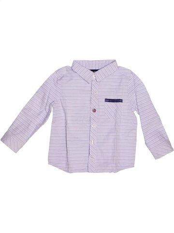 Camisa de manga larga niño TAPE À L'OEIL blanco 2 años invierno #1221876_1