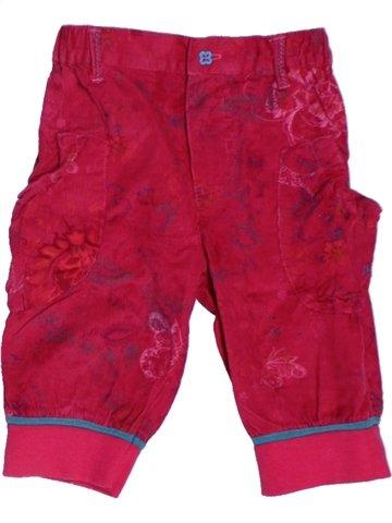 Pantacourt fille ALPHABET rouge 2 ans hiver #1222568_1