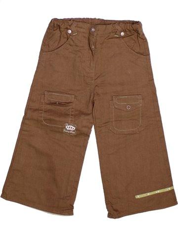 Pantalon garçon TOUT COMPTE FAIT marron 2 ans hiver #1224137_1