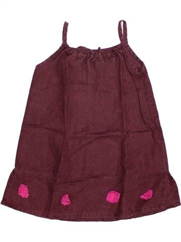 Vestido niña JEAN BOURGET violeta 4 años verano #1224263_1
