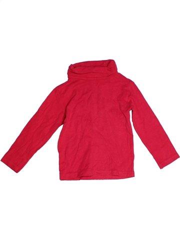 Camiseta de cuello alto niña GEMO rojo 3 años invierno #1224769_1