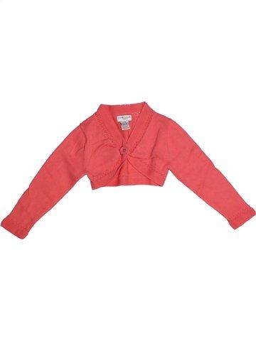 Chaleco niña CYRILLUS rosa 3 años invierno #1225588_1