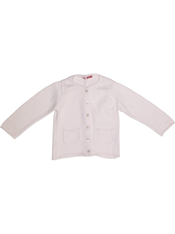 Chaleco niña DPAM blanco 2 años invierno #1227140_1