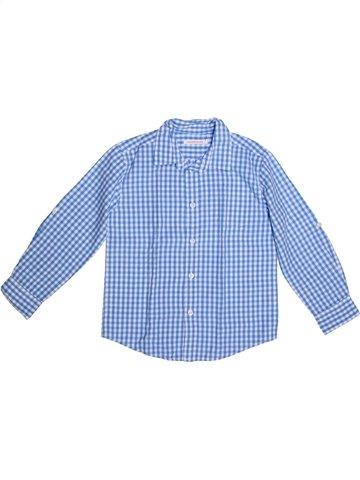 Camisa de manga larga niño MONOPRIX azul 5 años invierno #1227428_1