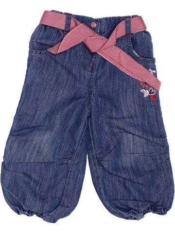 Pantalon fille PREMAMAN bleu 2 ans hiver #1227596_1