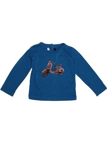 Camiseta de manga larga niña LILI GAUFRETTE azul 2 años invierno #1228146_1