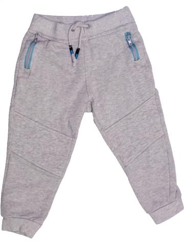 Pantalon garçon VERTBAUDET gris 3 ans hiver #1228190_1