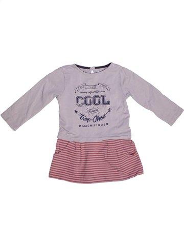 Vestido niña SUCRE D'ORGE rosa 2 años invierno #1229204_1