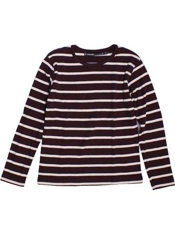 T-shirt manches longues garçon LE PHARE DE LA BALEINE violet 6 ans hiver #1229581_1
