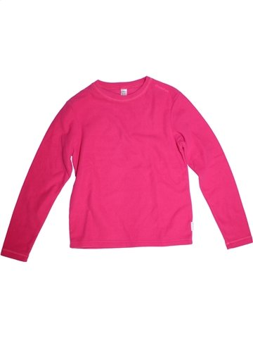 Pull fille QUECHUA rose 14 ans hiver #1229876_1