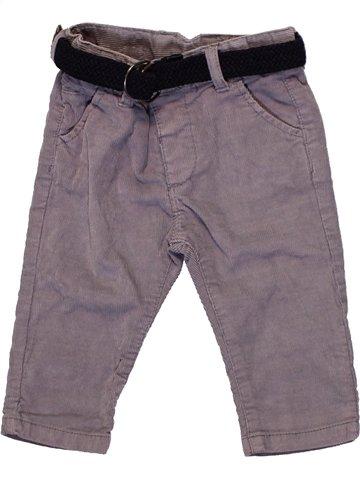 Pantalon garçon ZARA violet 6 mois hiver #1231638_1