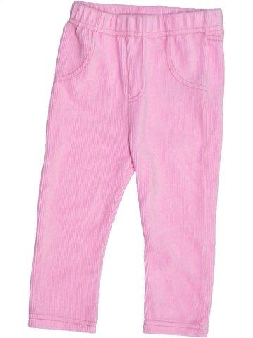 Pantalón niña ERGEE rosa 2 años invierno #1233588_1