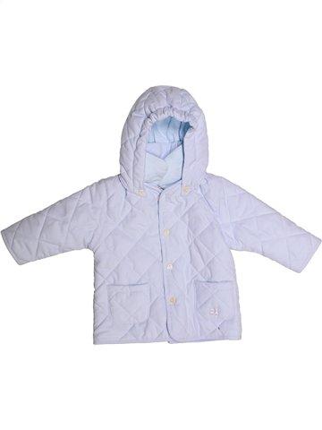 Manteau fille EMILE ET ROSE blanc 6 mois hiver #1233640_1