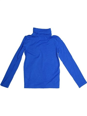 T-shirt col roulé garçon ALIVE bleu 10 ans hiver #1234299_1