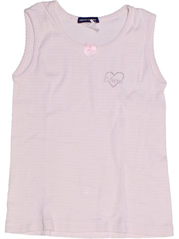 Camiseta sin mangas niña ORIGINAL MARINES blanco 5 años verano #1234315_1