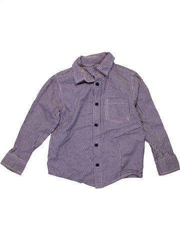 Chemise manches longues garçon DUNNES STORES violet 4 ans hiver #1235000_1