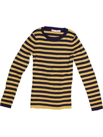 jersey niña GEMO amarillo 8 años invierno #1235424_1