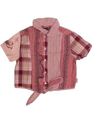 Blusa de manga corta niña JEAN BOURGET marrón 4 años verano #1235460_1
