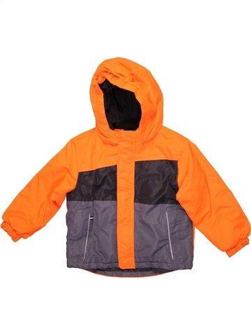 Blouson garçon LUPILU orange 4 ans hiver #1237040_1