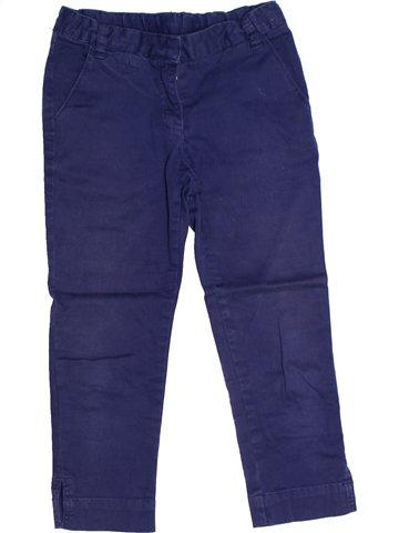 Pantalón niña CYRILLUS azul 7 años invierno #1239141_1