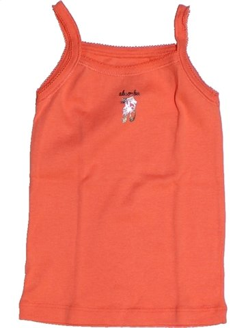 T-shirt sans manches fille ABSORBA orange 3 ans été #1239245_1