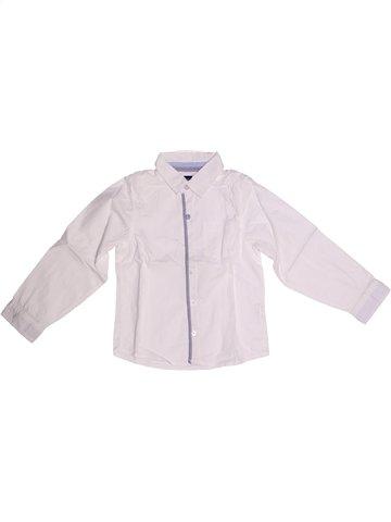 Chemise manches longues garçon YCC-214 blanc 4 ans hiver #1239539_1