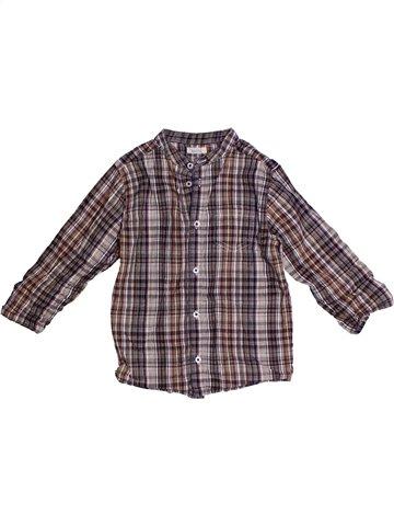Camisa de manga larga niño BOUT'CHOU gris 3 años invierno #1239712_1
