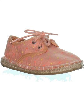 Zapatos con cordones niña KIABI rosa 24 verano #1240326_1