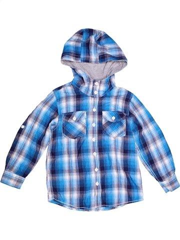 Chemise manches longues garçon MATALAN bleu 7 ans hiver #1242353_1