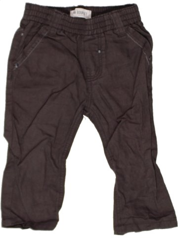 Pantalón niño JEAN BOURGET marrón 12 meses verano #1242738_1