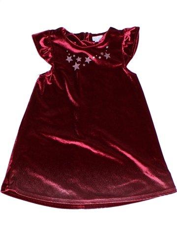 Vestido niña KIMBALOO marrón 2 años invierno #1243738_1