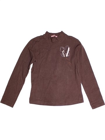 T-shirt manches longues fille LISA ROSE marron 14 ans hiver #1243971_1