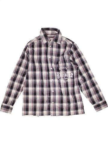 Chemise manches longues garçon TOM TAILOR gris 12 ans hiver #1244325_1