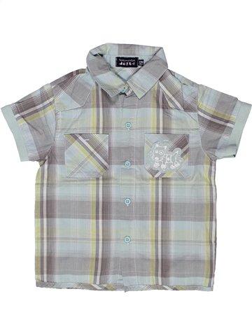 Chemise manches courtes garçon TOUT COMPTE FAIT gris 2 ans été #1244819_1