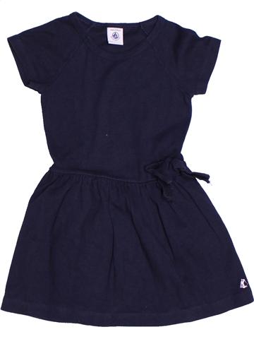 Vestido niña PETIT BATEAU azul 4 años verano #1245042_1