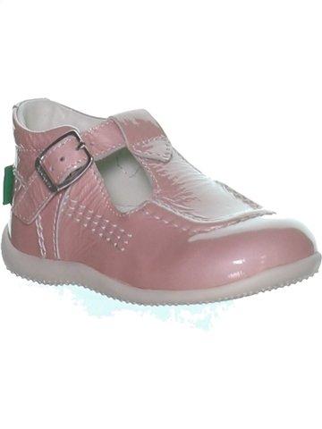 Zapatos con hebilla niña KICKERS gris 23 verano #1245229_1