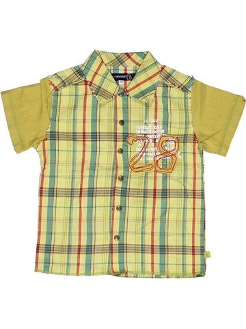 Camisa de manga corta niño JEAN BOURGET verde 3 años verano #1245415_1