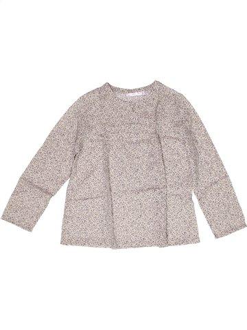 Blusa de manga larga niña CFK blanco 8 años invierno #1245643_1