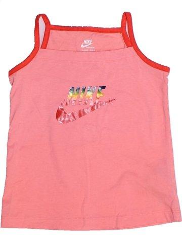 T-shirt sans manches fille NIKE rose 3 ans été #1245679_1
