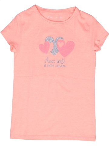 Camiseta de manga corta niña GEMO rosa 10 años verano #1245811_1