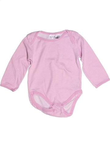 T-shirt manches longues fille ERGEE rose 2 ans hiver #1245922_1